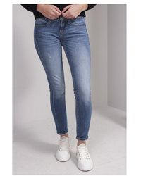 Guess jegging Jeans In Be Hive Colour: Denim - Blue
