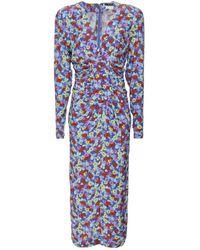 ROTATE BIRGER CHRISTENSEN Rotate 900654 Heather Dress Colour: Purple
