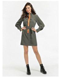 Guess Virginia Dress Colour: Military Green