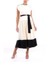 Proenza Schouler - Long Bi-color Dress - Lyst