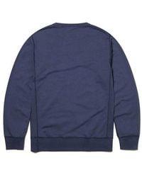 Albam - 196 Classic Sweatshirt In Indigo - Lyst