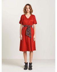 Bellerose Hoek Dress - Red