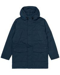 Carhartt WIP Trent Parka Jacket - Admiral - Blue