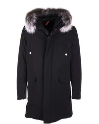 Rrd Winter Parka Fur W Nero - Black