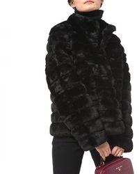 Michael Kors Faux Fur - Black