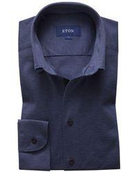 Eton 0562 62597 26 Shirt Blue