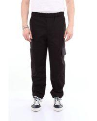 KENZO Pants Cargo Men Black
