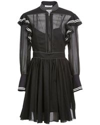 Philosophy Cotton Dress - Black
