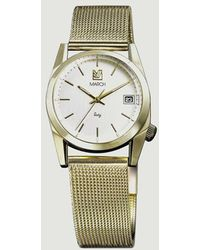 March LA.B Sixty Seven Watch Maille Milanaise - Metallic