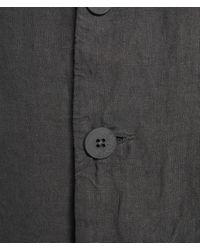 Transit Lightweight Linen Blazer - Grey