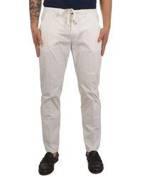 Briglia 1949 Cotton Pants - White