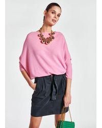 Essentiel Antwerp Antwerp - Zinedo Merino Wool And Cashmere Sweater In - Pink