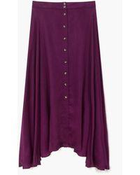 Leon & Harper Jacinthe Skirt - Purple