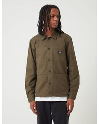 Dickies Caprock Over Shirt - Dark Olive Green