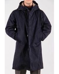 C.P. Company Ten-c Coat / Thunder Storm Parka / Dark - Blue