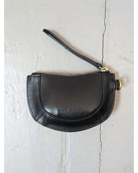 Étoile Isabel Marant Soko Black Leather Coin Purse