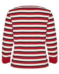 Part Two - Lana Dark Red T-shirt - Lyst