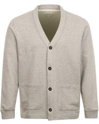 Norse Projects Vidar Jersey Button Cardigan Grey