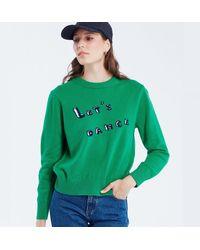 Maison Labiche Let's Dance Jumper - Green