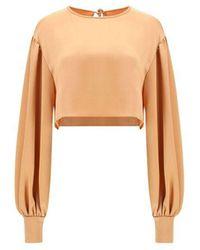 ANDAMANE Silk Blouse - Pink