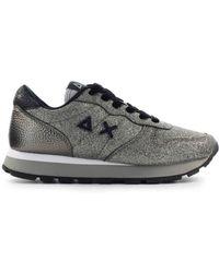 Sun68 Sneakers Low - Metallic