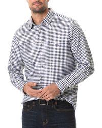 Rodd & Gunn Gebbies Valley Cotton Linen Shirt - Multicolour