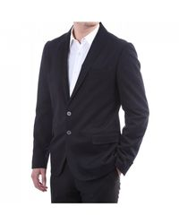 PS by Paul Smith Mens 2 Button Shawl Collar Jkt - Blue