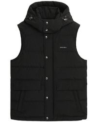 Woolrich Aluetian Bodywarmer Zwart Cfwove0035mrut0001 - Black