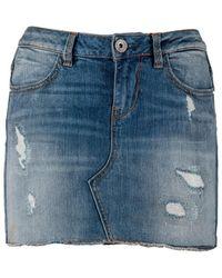 Guess Cotton Skirt - Blue