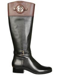 MICHAEL Michael Kors Stockard Boots - Black