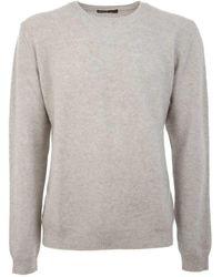 Ones Men's 3020m50405 White Cashmere Sweater