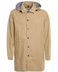 Woolrich Men's Woou0399mrut26478925 Beige Cotton Coat - Brown