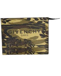 Givenchy - Medium Pouch With Logo - Lyst