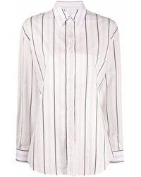Maison Margiela - Women's S51dl0328s52582001f White Cotton Shirt - Lyst