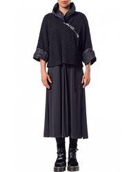 Crea Concept Boucle Wide Jacket - Black