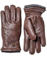 Hestra Utsjo Glove Espresso - Brown