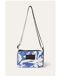 Stine Goya Vivienna Bag Crossbody Violet Hawaii - White