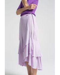 House of Dagmar Robyn Skirt - Purple