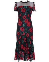 Ukulele Kelly Dress - Black