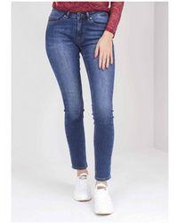 BOSS by Hugo Boss J20 Whiskered Blue Slim Jeans