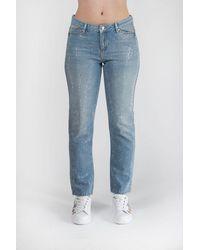 Karl Lagerfeld Girlfriend Jeans Sparkle - Red
