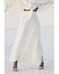 Mes Demoiselles Paris Jamie Ivory Skirt - White