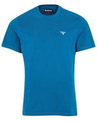 Barbour - Sports T-shirt Lyons Blue - Lyst