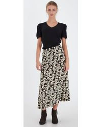 Ichi Ihanke Skirt - Black