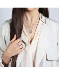 V Jewellery - Taper Ring - Lyst