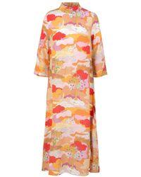 Stine Goya Dean Dress Dreamscape Orange