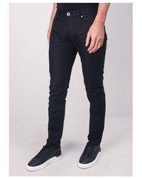 Emporio Armani J06 Slim Fit Chino Colour: Black