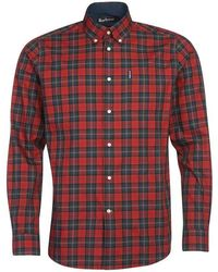 Barbour Tartan 8 Shirt - Red