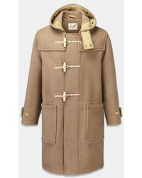 Gloverall Monty Duffle Coat - Camel - Brown