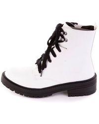 Madden Girl Boots - White